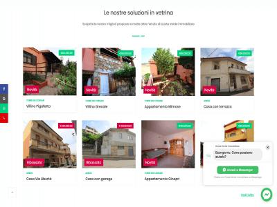 Portfolio - Sito Costa Verde Immobiliare 2