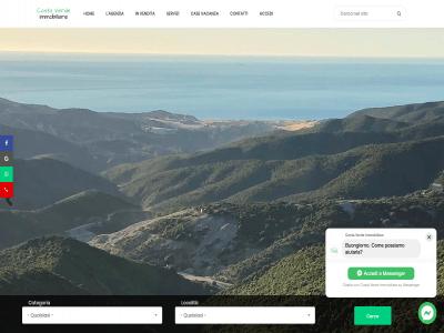Portfolio - Sito Costa Verde Immobiliare